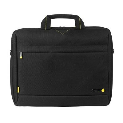 Techair 1202 Toploading Modern Classic Laptop Bag (Black) for 15 inch - 15.6