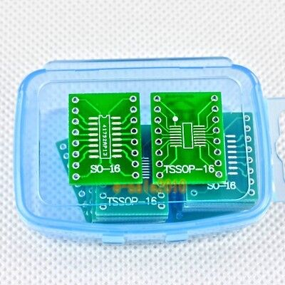 50 Pcs Sossoptssopsoic16 To Dip Adapter Pcb Board Converter Double Sides 246b