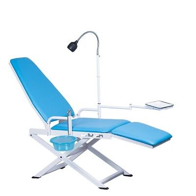 Dental Portable Folding Chair Mobile Unit Gu-p109a With Led Lamp Waste Basin