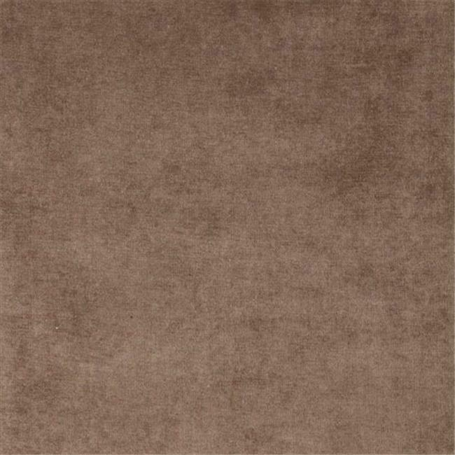 Designer Fabrics D231 54 in. Wide Taupe Brown Solid Woven Velvet Upholstery F...