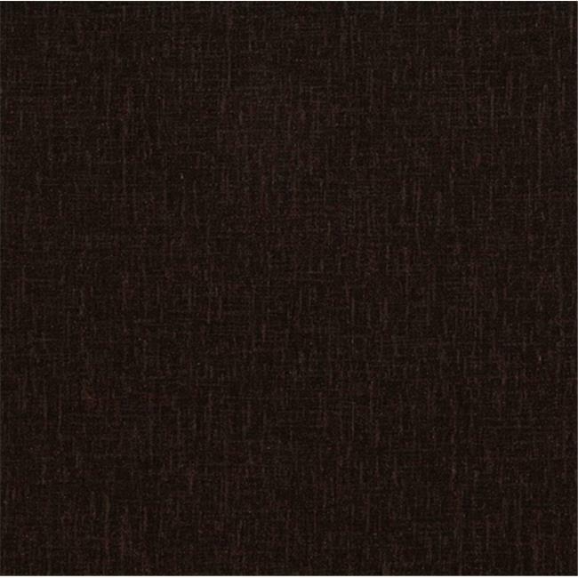 Designer Fabrics D054 54 in. Wide Dark Brown Soft Polyester Chenille Velvet U...