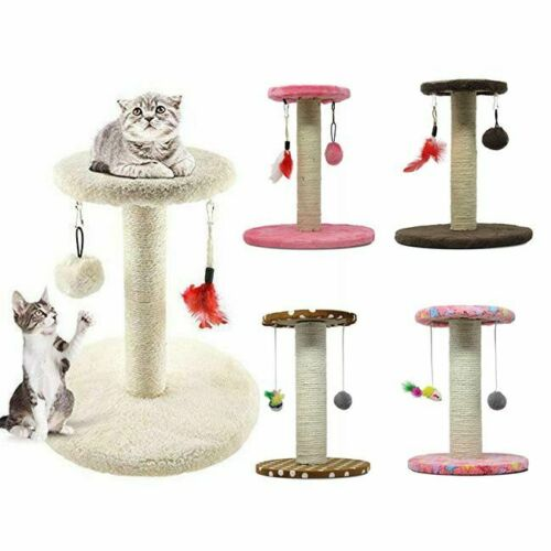 MXiiXM Cat Tree Tower Climbing Frame Furniture Scratching Post for Kitty Toy Fun