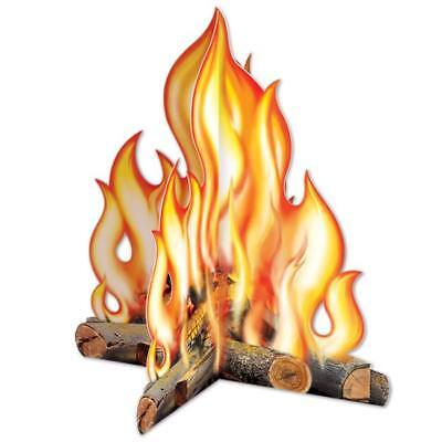 Campfire 12 Inch 3-D Centerpiece Western Camping Outdoors Party Decoration](Campfire Centerpiece)
