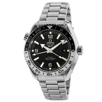 New Omega Seamaster Planet Ocean 600M GMT Mens Watch 21530442201001