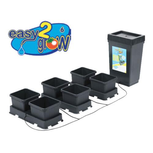AutoPot easy2grow Kit 6 Pot System w/ 12.4 Gal Tank