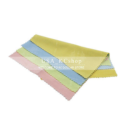 New 4PC  microfiber  LCD LENS Micro Fiber Screen Clean Cloth for i Pad 2 3 4