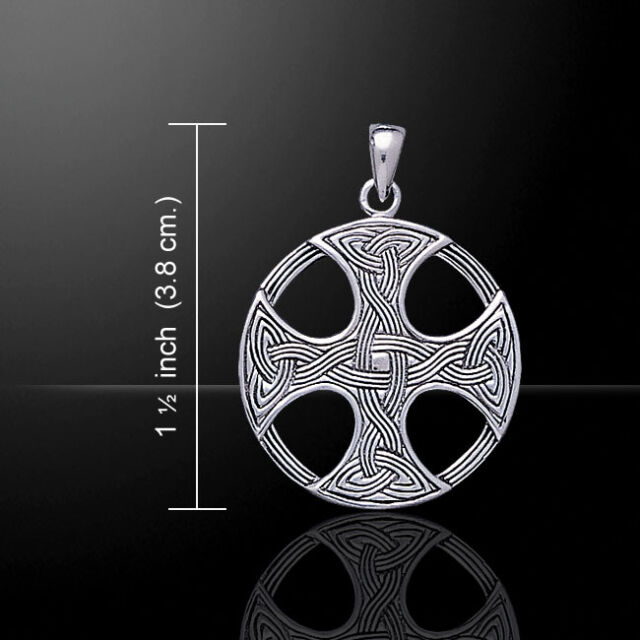 Celtic knotwork cross 925 sterling silver pendant by peter stone ebay celtic knotwork cross 925 sterling silver pendant by peter stone aloadofball Gallery
