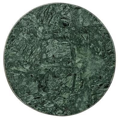 Bloomingville Tablett Rund Marmor Grün