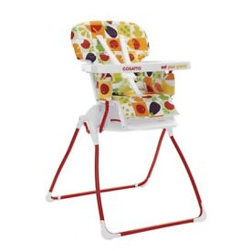 On the Move Cosatto's folding portable highchair - Eat Your Greens