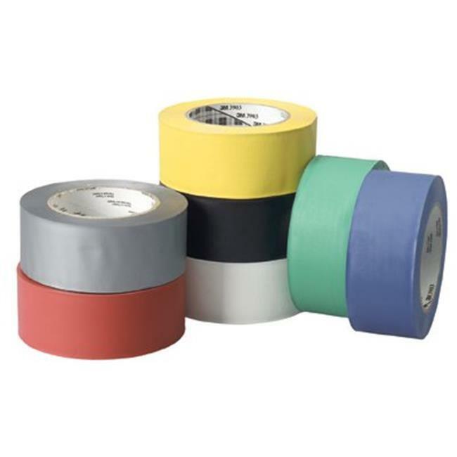 3M Industrial 405-051131-06995 3M Vinyl Duct Tape 3903Black 2 in. X50 Yds