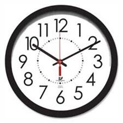 Chicago Lighthouse ILC67801103 Electric Clock- 14-.50in.- 5ft. Cord- Black Fr...
