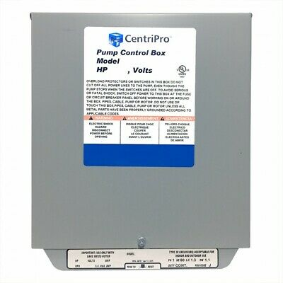 Cb15412cr Goulds 1.5hp Cscr Control Box 230v