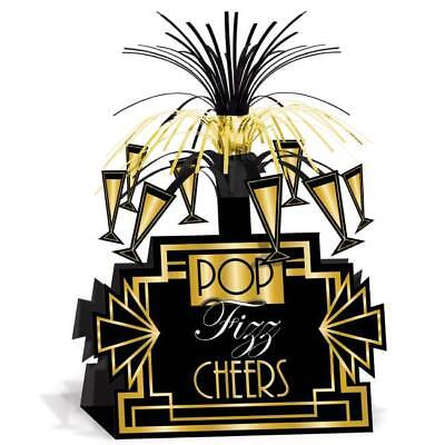 Great Roaring 1920s Centerpiece Pop Fizz Cheers Party Decoration  - Roaring 20s Centerpieces