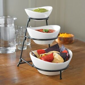 Strata 3-tier Serving Bowl Set