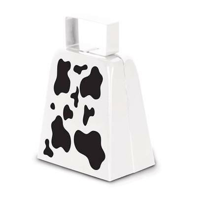 Farm Animal Party Cow Print Cow Bell Ranch Western Party Supplies (Cow Print Party Supplies)