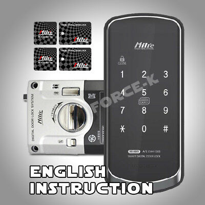Keyless Lock MI-460S Digital Doorlock Smart Security Entry Password + 4 RF Cards