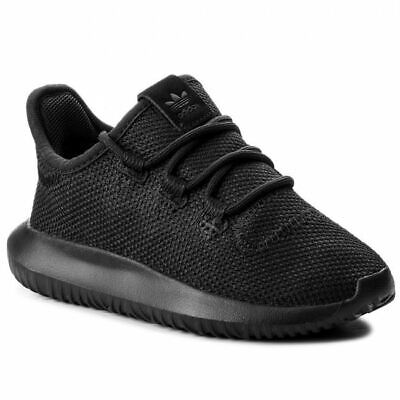 Adidas Kids Tubular Shadow Trainers Boys Sneakers Sport Shoes Black