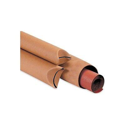 Crimped End Mailing Tubes 1-12 X 16 Kraft 70case