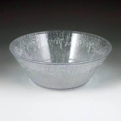- Clear Plastic Icelandic Salad Bowl 16 oz