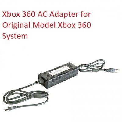 Grasa Xbox 360 Potencia Alimentación AC Adaptador Con Cable Para Microsoft 360