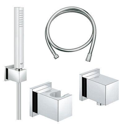 Grohe Euphoria Cube Set Handbrausegarnitur mit Wandanschlussbogen 27702 / 27704 online kaufen
