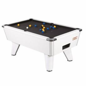 Brand New 6ft Supreme Winner Pool Table, White Pearl