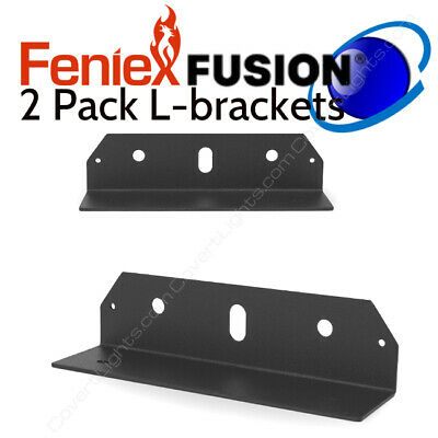 2 Pack Feniex Fusion L-bracket Public Safetyled Lights Mounting Bracket