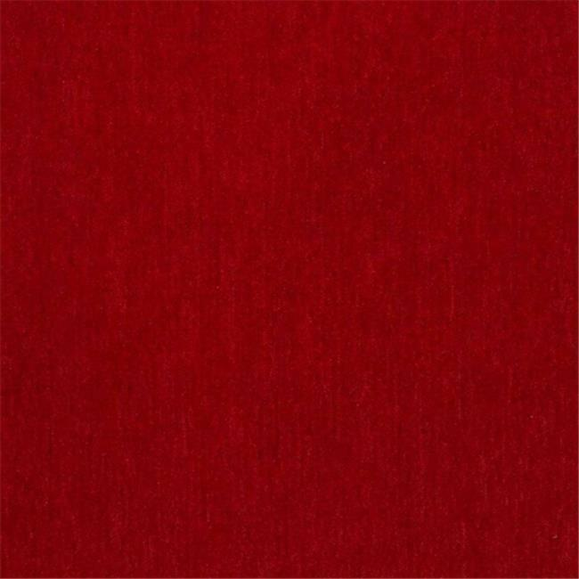 Designer Fabrics D781 54 in. Wide Red Chenille Commercial Residential And Chu...