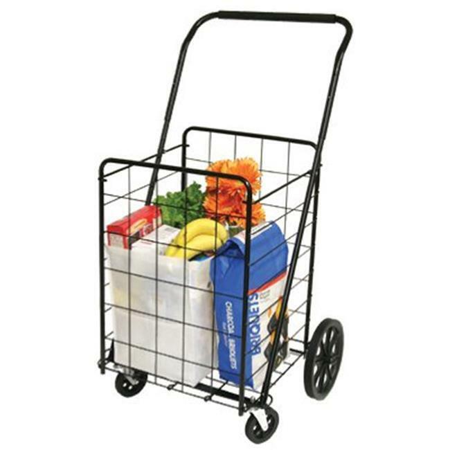 39720 Super Deluxe Swiveler Shopping Cart 4 Wheel