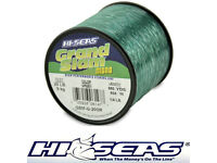 HI SEAS GRAND SLAM MONOFILAMENT LEADER LINE MULTI YARD WRIST SPOOL CLEAR