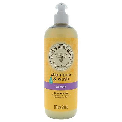Burt's Bees Baby Bee Shampoo and Wash - Calming - 21 Fluid O