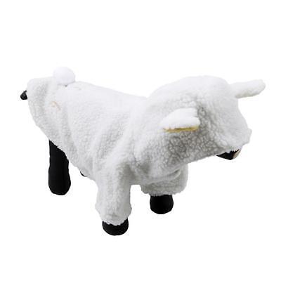 Dog Sheep Costume (Cute Sheep Warm Dog Costume Clothes Small Pet Coat Apparel Jacket Winter)