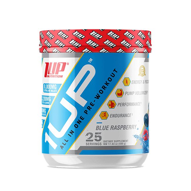 1UP Pre Men All-In-One PRE-WORKOUT - 25 Serv. Powerful Energy !