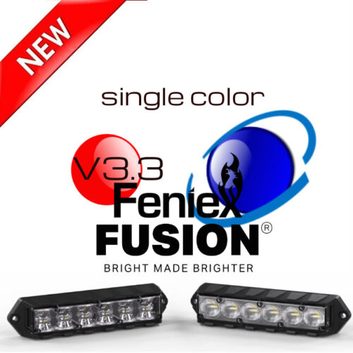 V3 Feniex Fusion LED Surface Mount Single Color Lights