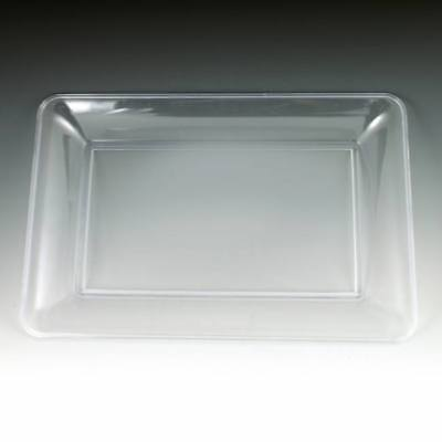 Clear Plastic Serving Tray 14