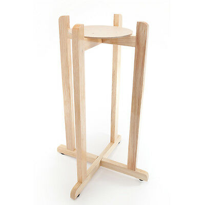 "Goldwell Designs 30"" Wood Floor Stand for Water Dispenser Cr"