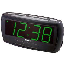 JENSEN JCR-208 AM/FM Alarm Clock Radio