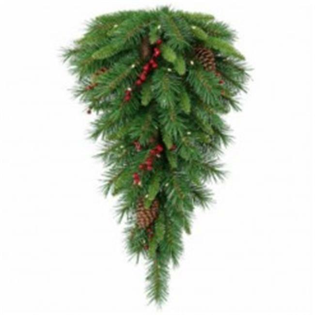 National Tree Co-Import 223079 30 x 16 in. Holiday Wonderland Art Teardrop