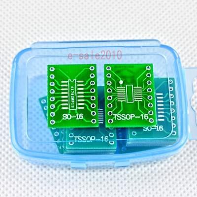 20 Pcs Sossoptssopsoic16 To Dip Adapter Pcb Board Converter Double Sides 246a