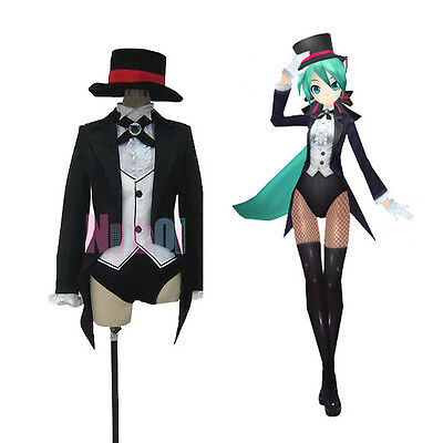 VOCALOID Hatsune Miku NEXT Project Diva Magician Suit Outfit Cosplay Costume