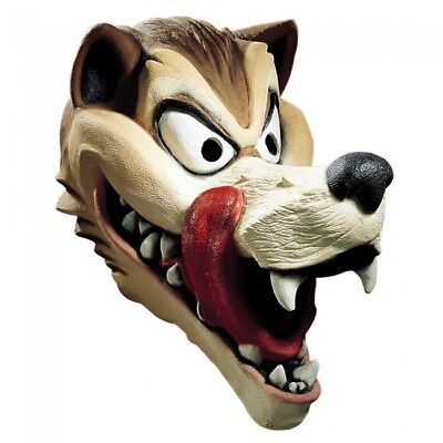 Disguise Hungry Wolf Latex Mask Adult Halloween Costume Accessory 10529