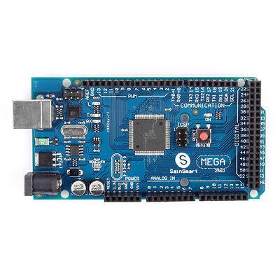 Sainsmart Mega 2560 R3 Board Atmega2560 Atmega16u2 Usb Cable For Arduino