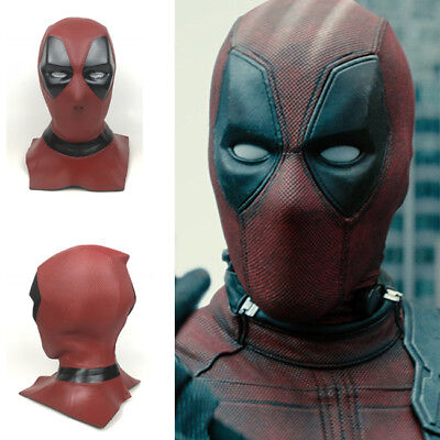 Deadpool 2 Cosplay PVC Mask Full Head Helmet Halloween Prop (Halloween 2 Full Movie)