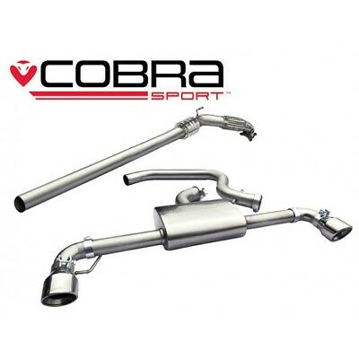 Cobra Sport VW Golf Mk6 5k GTI Turbo Back Sports Cat Resonated Exhaust VW38a