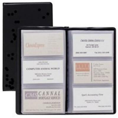 Cardinal Brands- Inc Crd751610 Card Holder- Business- 72-card Cap- 7-.75in.x4...
