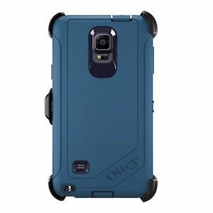 Original OtterBox Defender Case for Samsung Galaxy Note 4 with Belt Clip