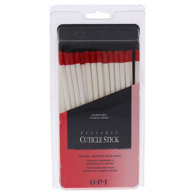 Reusable Cuticle Sticks by OPI for Women - 48 Pc Sticks Opi Cuticle Stick