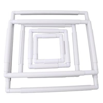 Embroidery Frame Cross Stitch Hoop Stand Lap Tool Square Rectangle Clip shan Cross Stitch Lap Stand