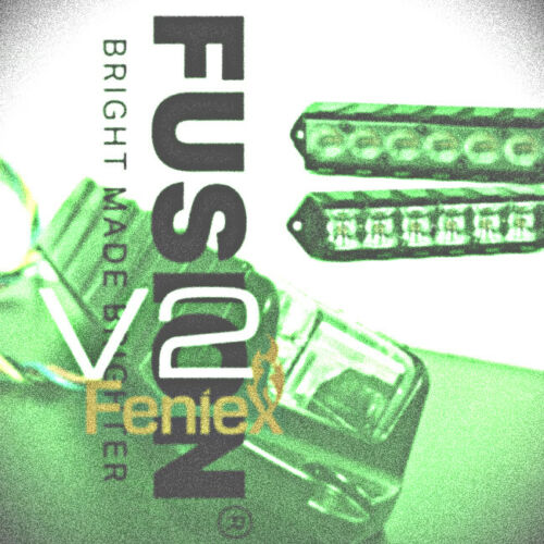GREEN Feniex Fusion 180°  V2 Surface Mount Lights  SALE