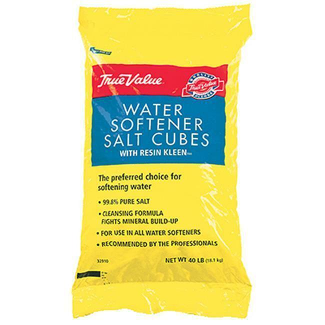 Compass Minerals 622803 40 lbs True Value Water Conditioning Salt Cubes